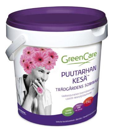 GreenCare Puutarhan KESÄ kastelulannoite 1 kg