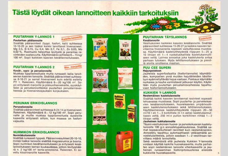 Kasvinsuojeluaineiden katalogi vuodelta 1979
