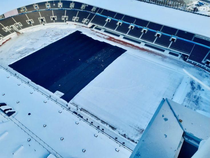 Stadion talviharso
